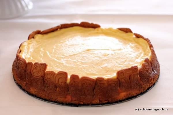 Spekulatius-Cheesecake zum Adventskaffee
