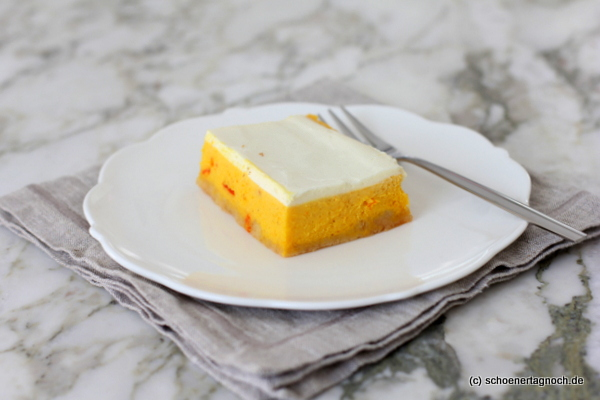 Pumpkin Pie Cheesecake mit Schmandguss