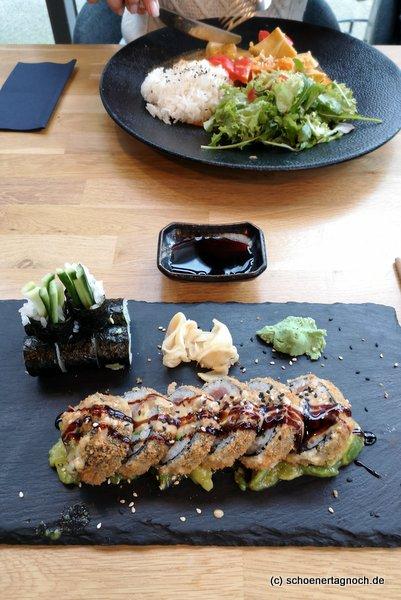 Sushi im Asia Fusion Restaurant Taumi in Karlsruhe