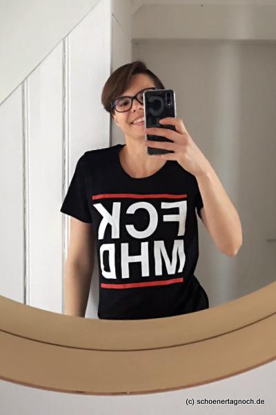 Statement T-Shirt Aktion Taste not Waste
