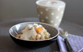 English Breakfast: Porridge mit Aprikosen und Honig nach Sophie Dahl