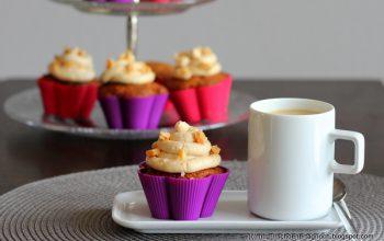 Caramel Cupcakes mit Fleur de Sel