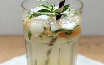 Grapefruit-Verbenen-Holunderspritz -ein alkoholfreier & erfrischender Sommer-Drink!