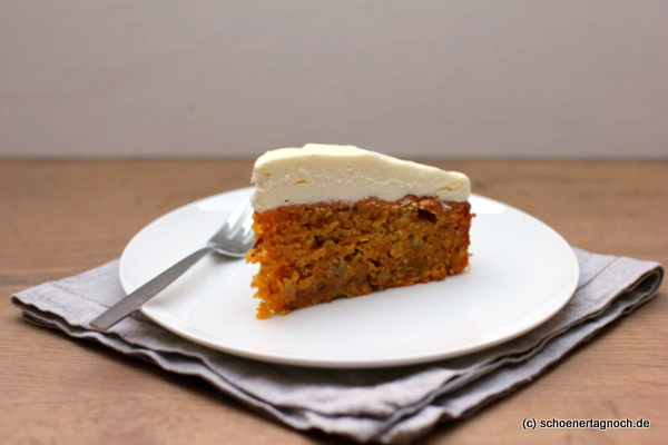 Carrot Cake mit Cream Cheese Frosting