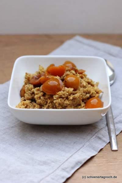 Frühstück: Winterliches Gewürz-Porridge