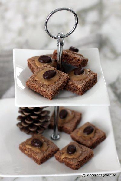Weihnachtsplätzchen-Rezept: Mokka-Schnitten
