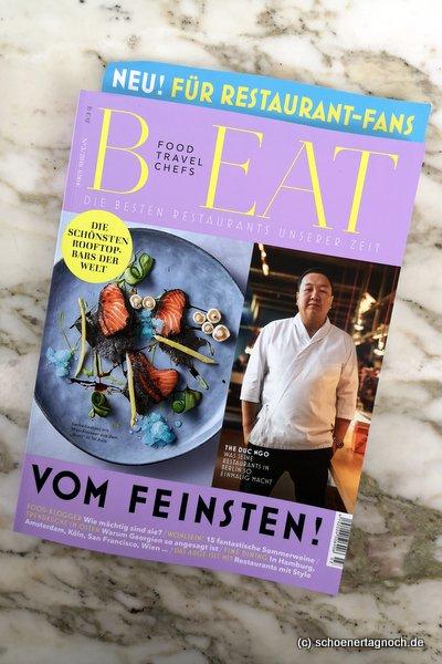 Neue Food-Zeitschrift BEAT