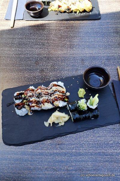 Sushi im Taumi Asia Fusion Food in Karlsruhe