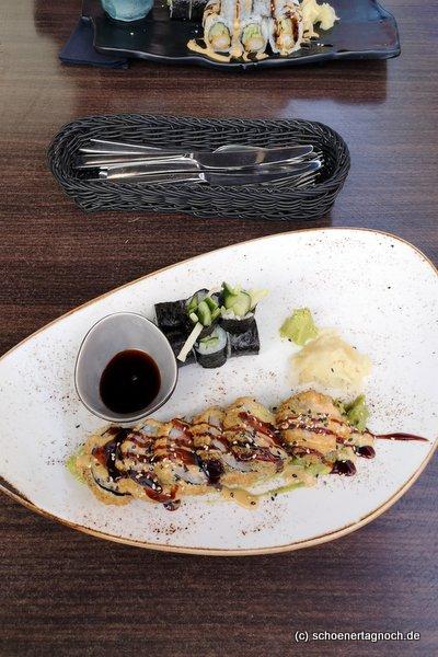 Tempura Sushi im Taumi in Karlsruhe