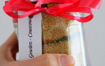 Last Minute Geschenk aus der Küche: Gewürz-Couscous Mischung