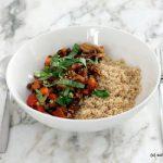 Linsen-Bolognese mit Couscous, Essen für Kleinkinder, vegan