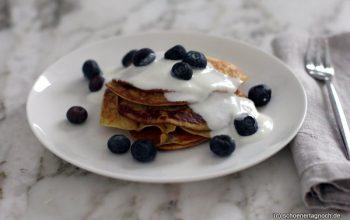 Bananen-Pancakes mit Joghurt [Essen für Kleinkinder]