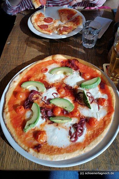 Pizza Verdure im Purino in Karlsruhe