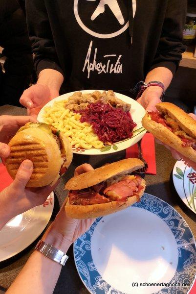 Pastrami-Sandwich von der Metzgerei Brath in Karlsruhe