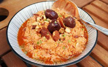 Zum Grillen: Tomaten-Salzmandel-Dip