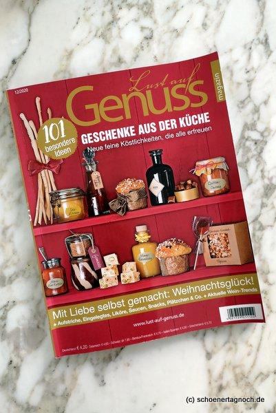 """Zeitschrift """"Lust auf Genuss"""", Geschenke aus der Küche"""