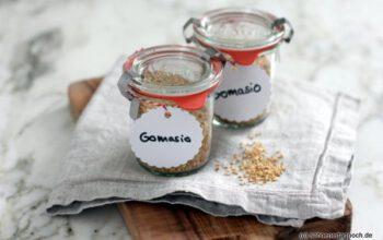 Geschenke aus der Küche: Gomasio (Sesamsalz)