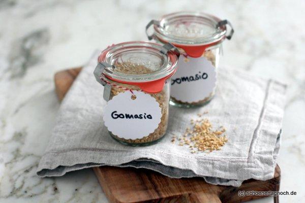 Gomasio, selbstgemachtes Sesamsalz