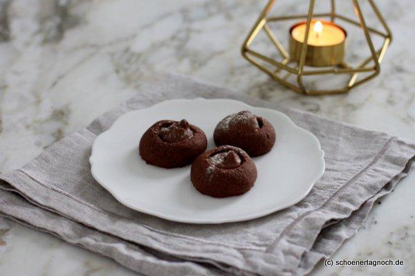 Mokka-Kugeln mit Nuss-Nugat, Weihnachtsplätzchenrezept