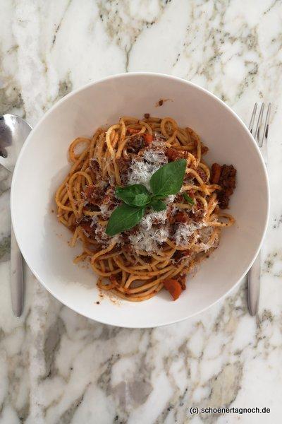 Lieblingsessen Spaghetti Bolognese