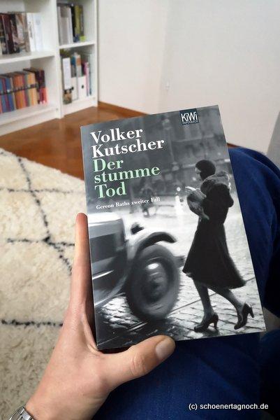 """Roman """"Der stumme Tod"""" von Volker Kutscher"""
