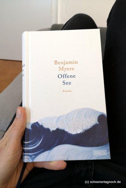 """Roman """"Offene See"""" von Benjamin Myers"""