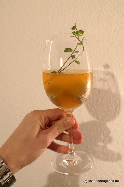 """Drink """"Ginger Spritz"""""""