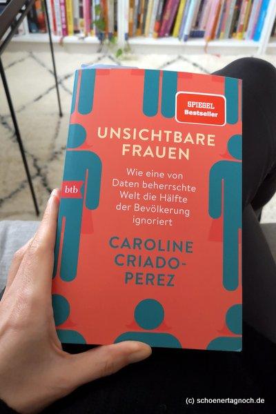 """Sachbuch """"Unsichtbare Frauen"""" von Caroline Criado-Perez"""