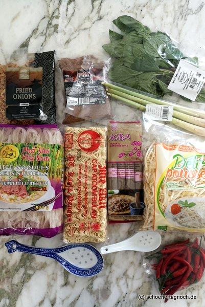 Einkauf im Asialaden