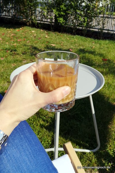 Selbstgemachter Iced Coffee