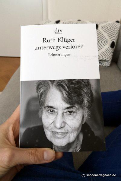"""""""unterwegs verloren"""" von Ruth Klüger"""