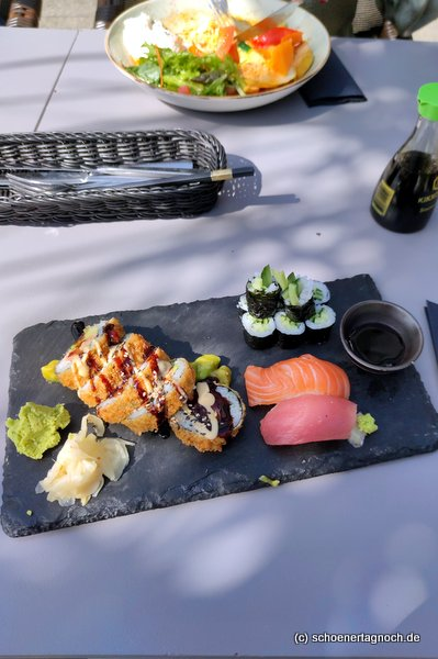 Tempura Sushi im Taumi Karlsruhe